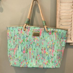Lilly Pulitzer Pop tote bag- Holy Grail!